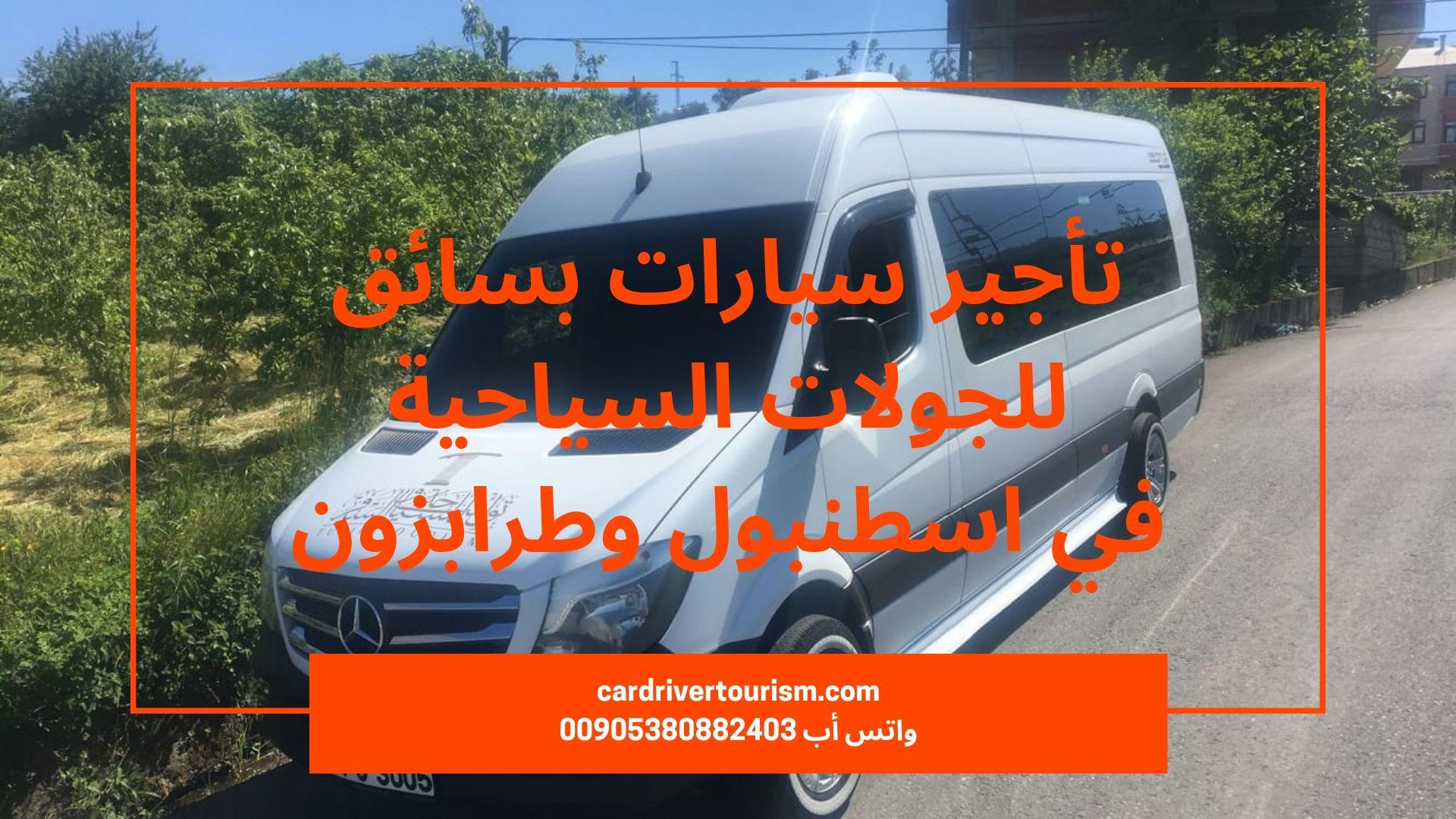 سائق سيارة في طرابزون