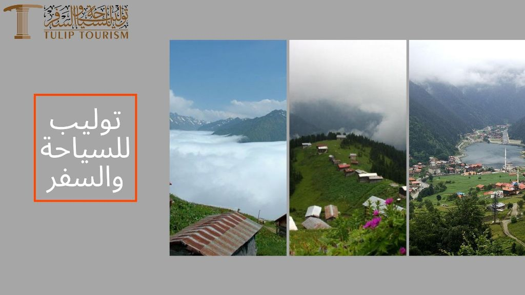 تنظيم جدول سياحي في طرابزون والشمال التركي